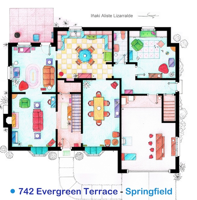 family guy house floor plan modern family dunphy floorplan house plans pinterest